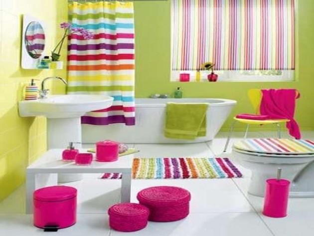 Υπέροχες Ιδέες διακόσμησης Μπάνιου για τα παιδιά σας16