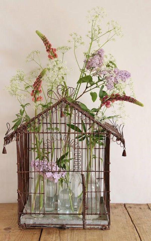 ιδέες διακόσμησης με κλουβιά1