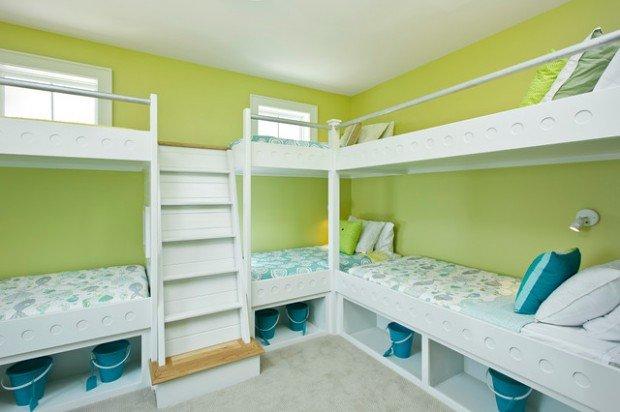 Υπνοδωμάτια για παιδιά Σχεδιασμένα σε θαλασσινό στυλ12
