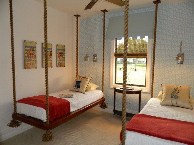 Υπνοδωμάτια για παιδιά Σχεδιασμένα σε θαλασσινό στυλ18
