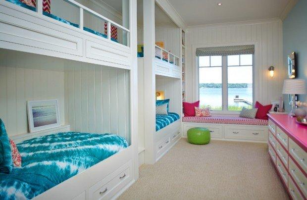 Υπνοδωμάτια για παιδιά Σχεδιασμένα σε θαλασσινό στυλ8