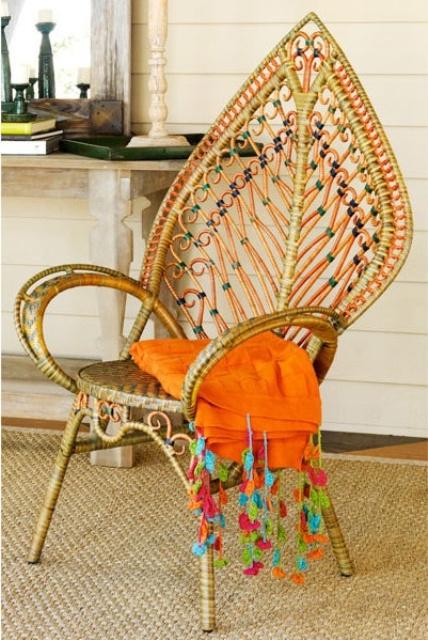 ιδέες με ψάθινες Καρέκλες12