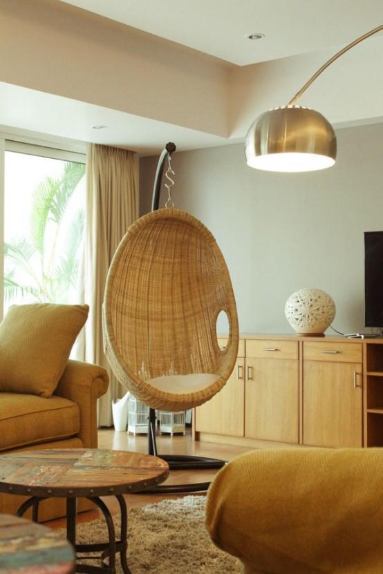 ιδέες με ψάθινες Καρέκλες18