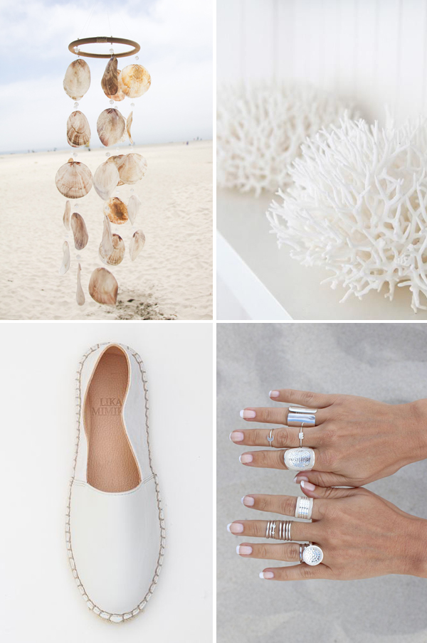 καλοκαιρινές ιδέες με λευκό χρώμα6