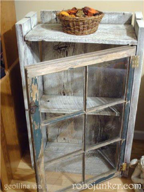 DIY Έργα Ανακύκλωσης από Παλιά Παράθυρα14