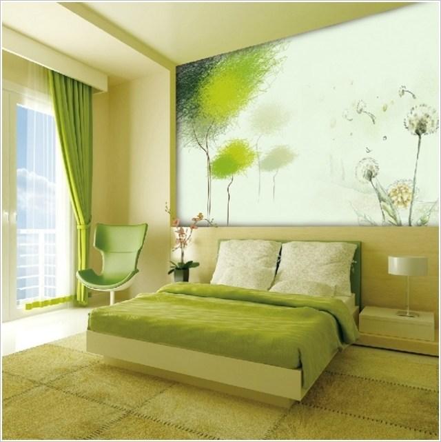 Ιδέες για διακόσμηση τοίχου Υπνοδωματίου2
