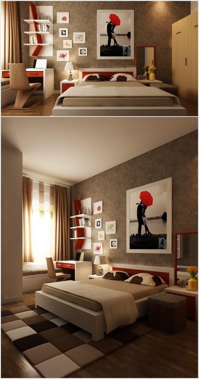 Ιδέες για διακόσμηση τοίχου Υπνοδωματίου4