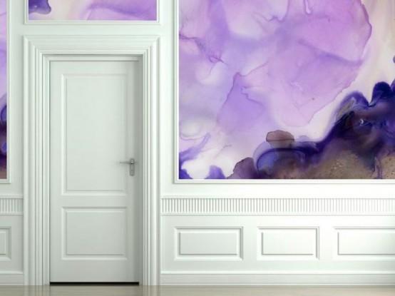 Ιδέες διακόσμησης Τοίχου με Ακουαρέλα22