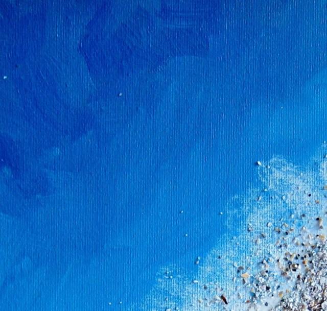DIY έργο τέχνης Πίνακας ζωγραφικής Παραλία2
