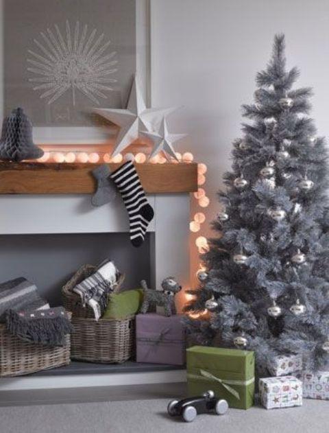 Ιδέες Διακόσμησης για τα Χριστούγεννα σε όλες τις αποχρώσεις του γκρι1
