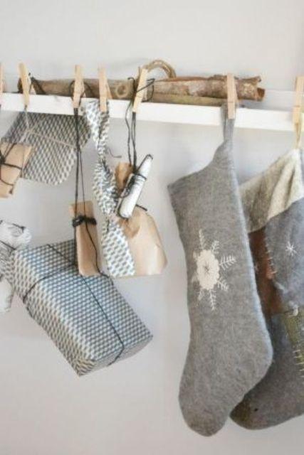 Ιδέες Διακόσμησης για τα Χριστούγεννα σε όλες τις αποχρώσεις του γκρι19