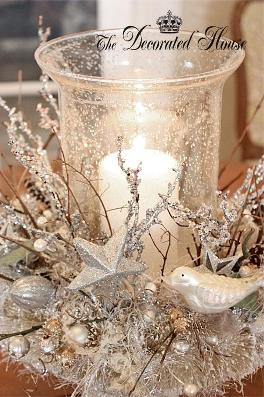 Ιδέες για Vintage λευκά  Χριστούγεννα30