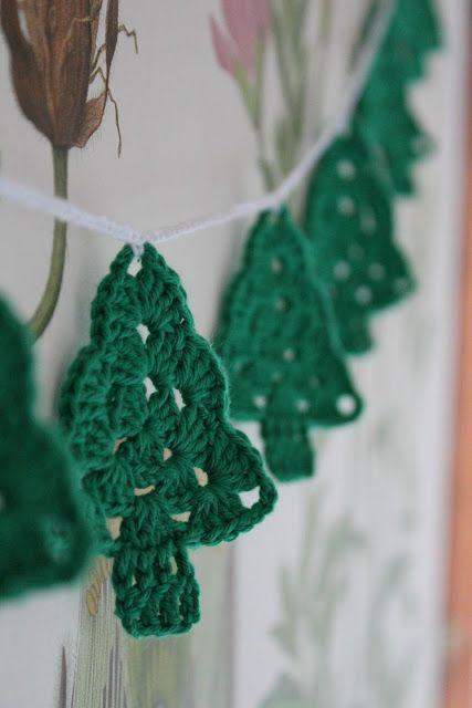 Πλεκτά Χριστουγεννιάτικα διακοσμητικά22