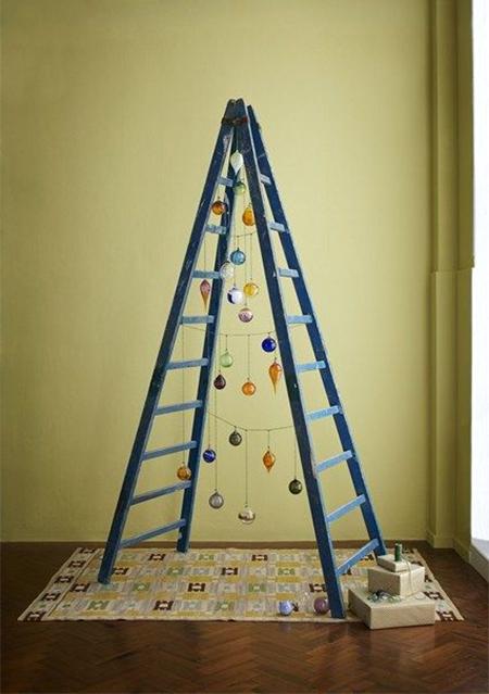 Πρωτότυπο χριστουγεννιάτικο δέντρο σκάλα7