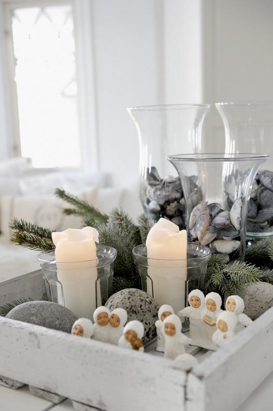 Σκανδιναβικές Χριστουγεννιάτικες Ιδέες Διακόσμησης2