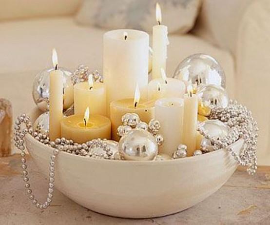 χρυσάφι Και Λευκές Χριστουγεννιάτικες Ιδέες10