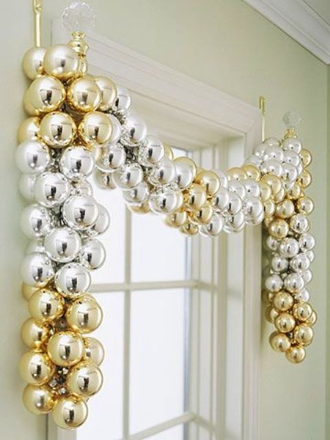χρυσάφι Και Λευκές Χριστουγεννιάτικες Ιδέες11