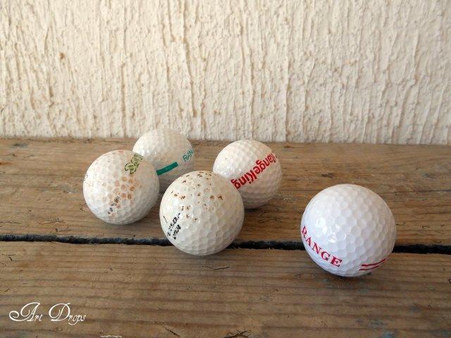 πασχαλίτσες για τον κήπο σας από μπαλάκια του γκόλφ2