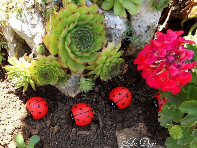 πασχαλίτσες για τον κήπο σας από μπαλάκια του γκόλφ9