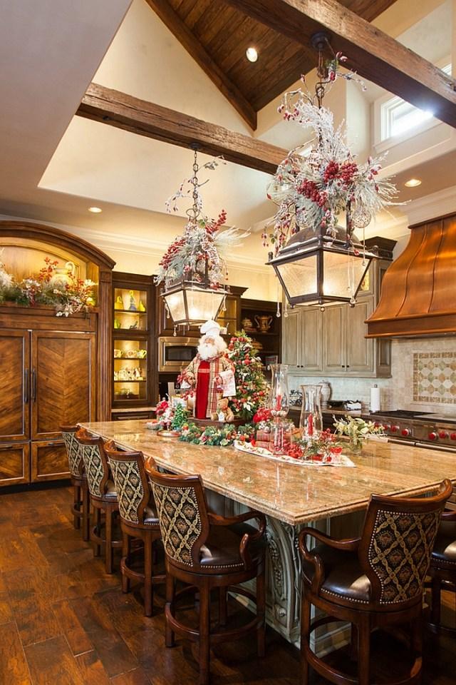 χριστουγεννιάτικη διακόσμηση κουζίνας13