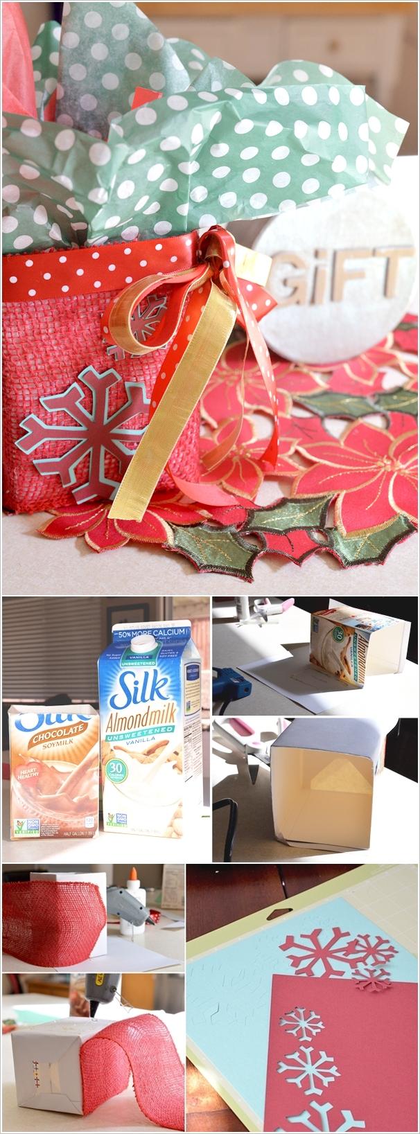 diy ιδέες με χάρτινα κουτιά γάλακτος3