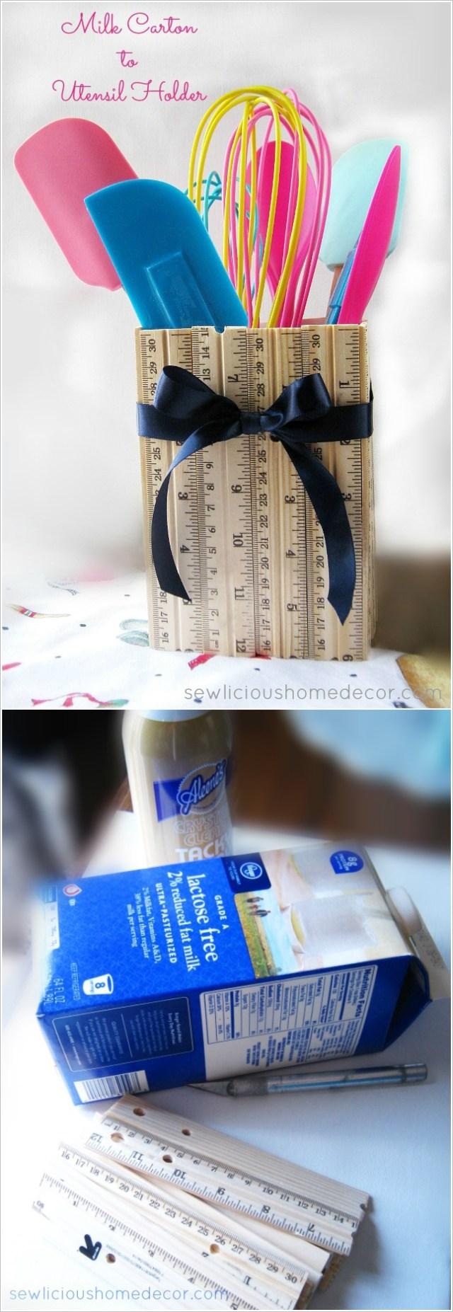 diy ιδέες με χάρτινα κουτιά γάλακτος8