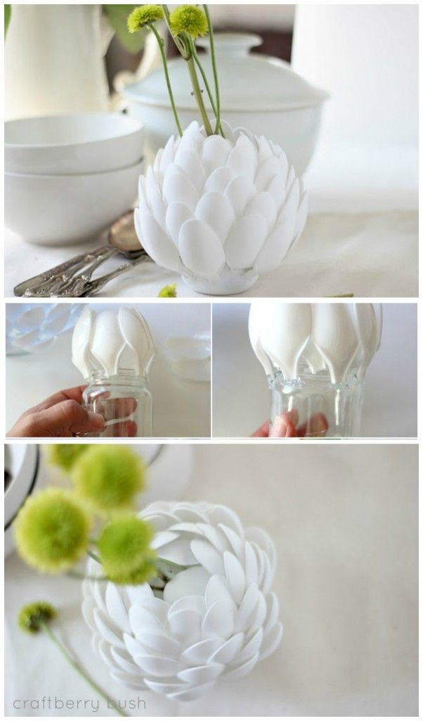 DIY έργα από πλαστικά κουτάλια12