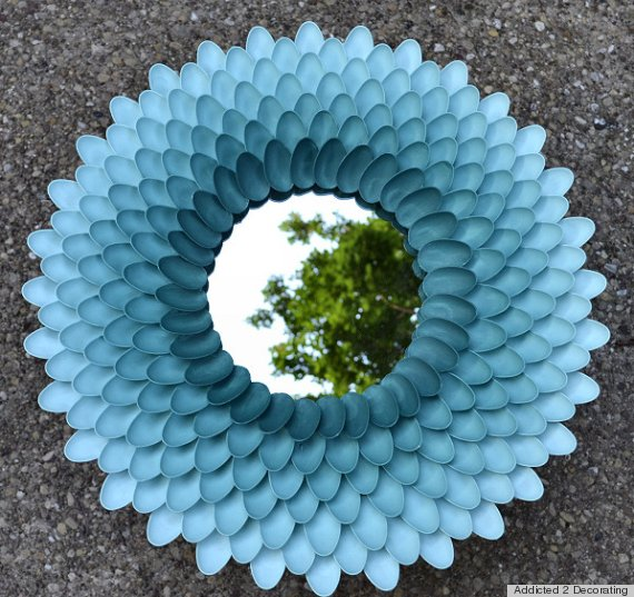 DIY έργα από πλαστικά κουτάλια4