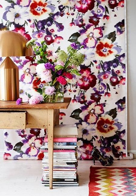 Ιδέες Διακόσμησης για την άνοιξη με λουλούδια στους τοίχους15
