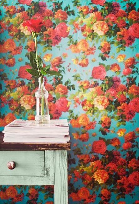Ιδέες Διακόσμησης για την άνοιξη με λουλούδια στους τοίχους20