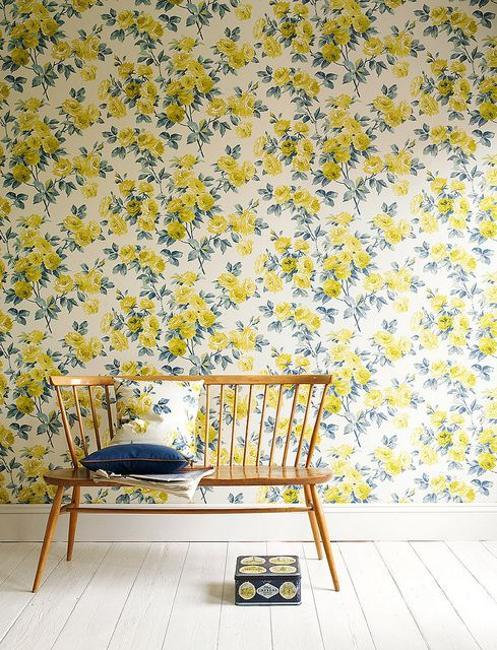 Ιδέες Διακόσμησης για την άνοιξη με λουλούδια στους τοίχους9