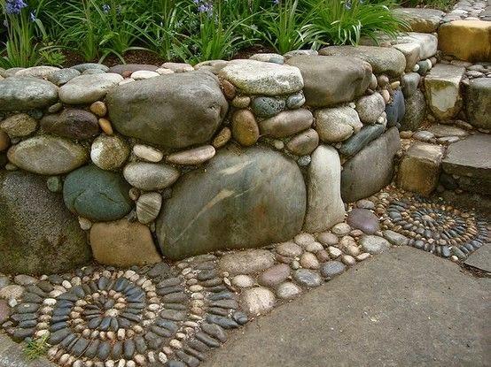 Ιδέες Διακόσμησης κήπου με βράχια και πέτρες10
