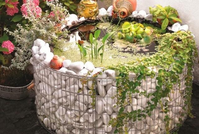 Ιδέες Διακόσμησης κήπου με βράχια και πέτρες18