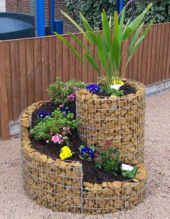 Ιδέες Διακόσμησης κήπου με βράχια και πέτρες22