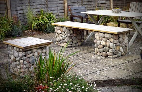 Ιδέες Διακόσμησης κήπου με βράχια και πέτρες4