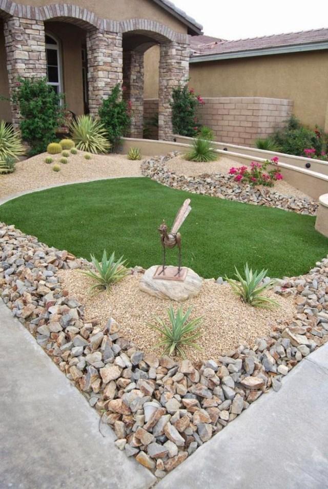 Ιδέες Διακόσμησης κήπου με βράχια και πέτρες5