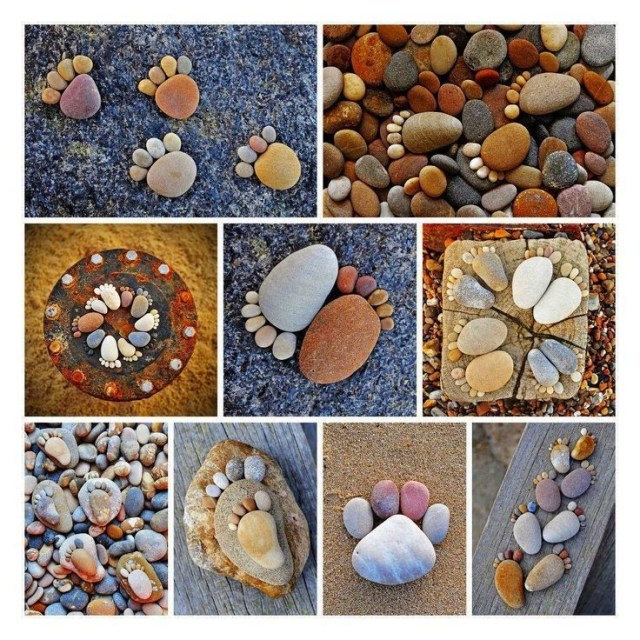 Ιδέες Διακόσμησης κήπου με βράχια και πέτρες9