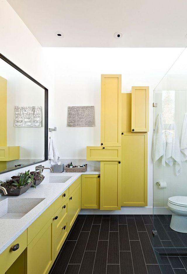 Μπάνια με τη ζεστή δελεαστική ομορφιά του Κίτρινου2
