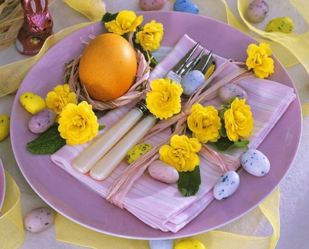 ιδέες Διακόσμησης για το Πασχαλινό τραπέζι 3