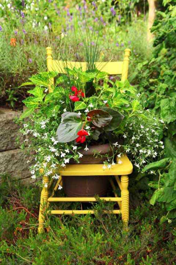 DIY Γλάστρες Κήπου16