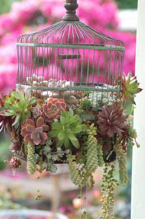 DIY Γλάστρες Κήπου17