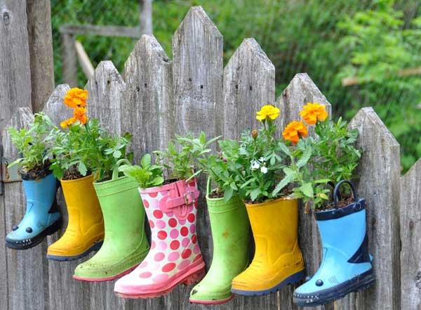 DIY Γλάστρες Κήπου19