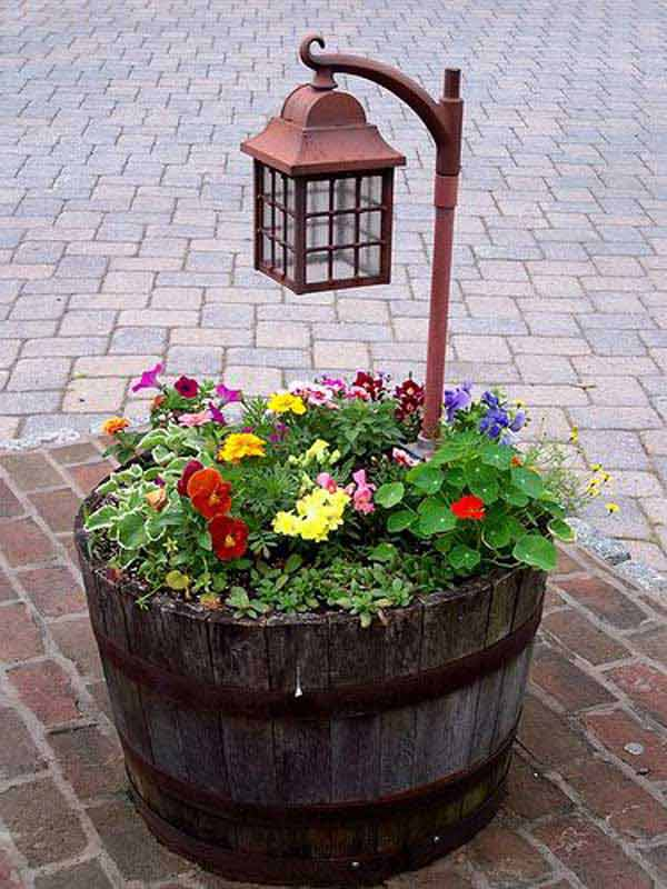 DIY Γλάστρες Κήπου6