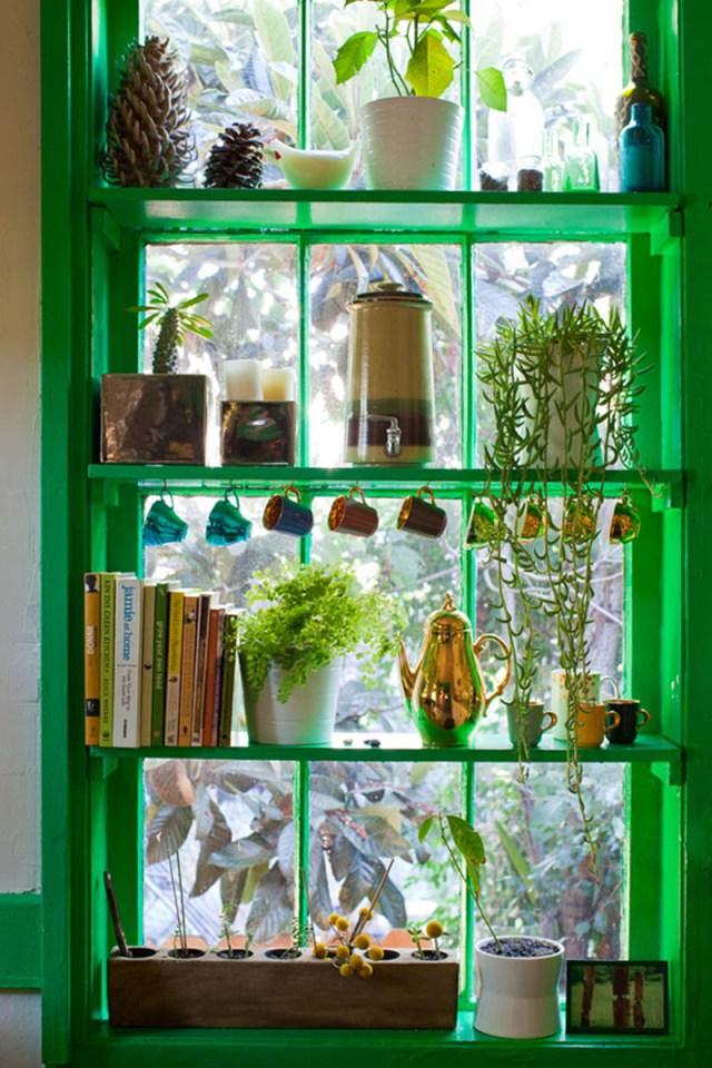DIY Ιδέες Βότανο κήπων Παραθύρων για την κουζίνα σας11