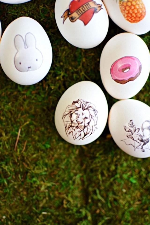 Πρωτότυπες ιδέες για διακόσμηση Πασχαλινών αυγών7