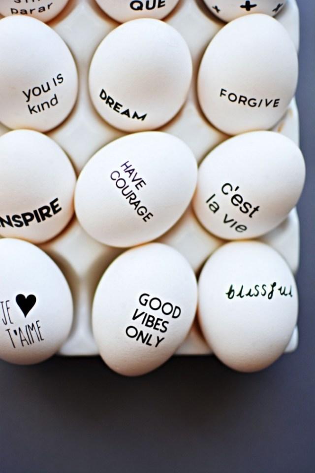 Πρωτότυπες ιδέες για διακόσμηση Πασχαλινών αυγών8