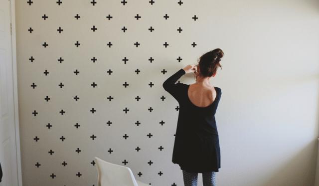 DIY Διακόσμηση Τοίχου Με Washi Tape13