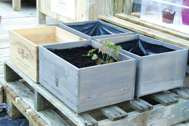 Βεράντα Κήπος από ανακυκλωμένα υλικά3