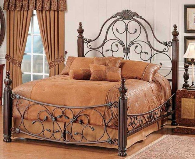 Κρεβάτια από σφυρήλατο σίδερο11