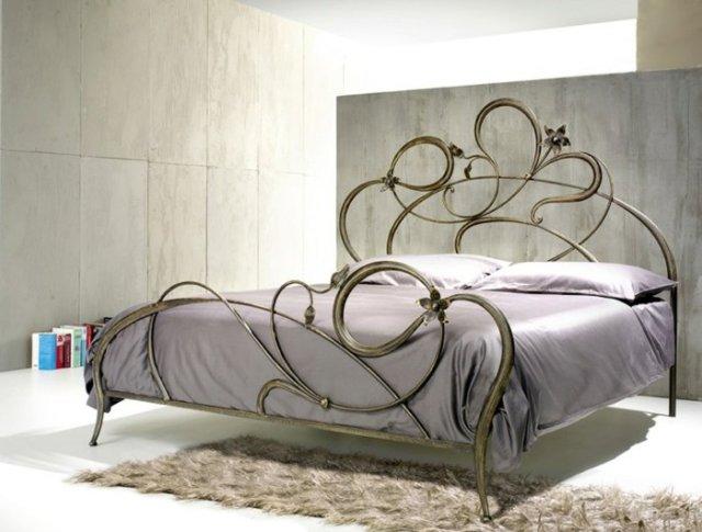 Κρεβάτια από σφυρήλατο σίδερο2